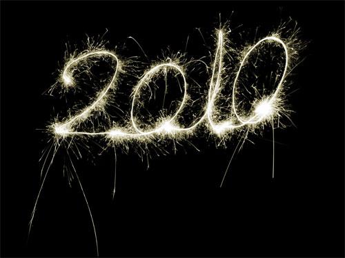 Šťastný Nový rok 2010